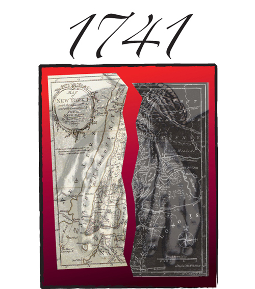 1741 Theater Production Logo