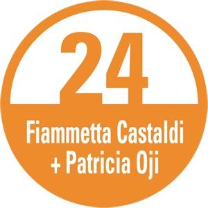 Artist Studio Number Sign in circular design