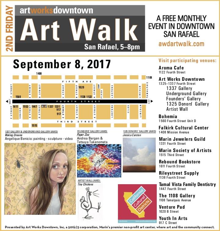 Art Works Downtown Print Ad MarinIJ