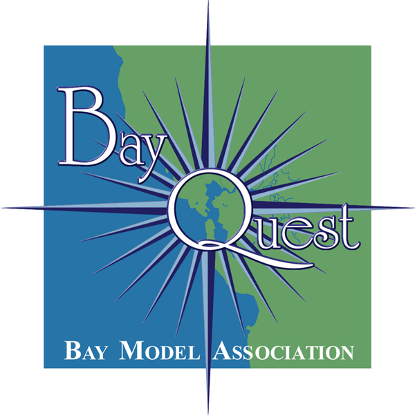 BayQuest  Logo Design for Bay Model Association San Francisco Bay Program