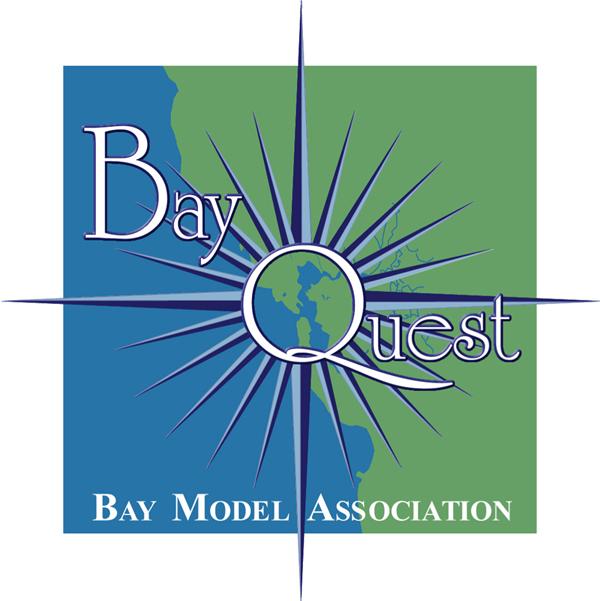 BayQuest  Logo Design for Bay Model Association San Francisco Bay Program