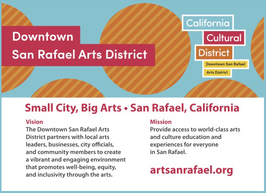 Downtown San Rafael Arts District Postcard