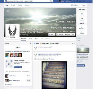 Engel Geist Facebook Business Page
