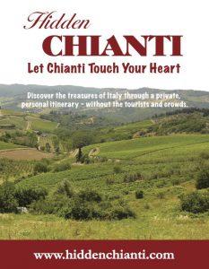 Hidden Chianti graphic design ad