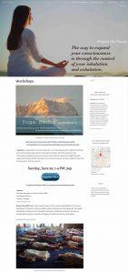 Master the Pause Yoga Studio WordPress Website