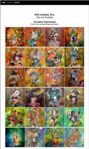 Patti Anastasi Art Portfolio Website