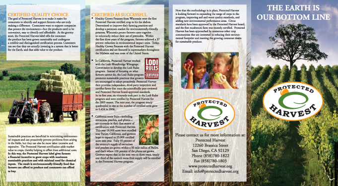 Protected Harvest Brochure