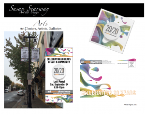 20/20 Vision | Nonprofit Fundraiser Event | Art Works Downtown