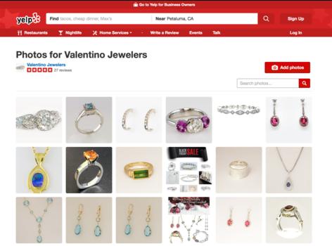 Valentino Fine Jewelers Yelp Gallery