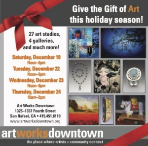 art works downtown print ad
