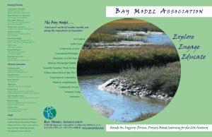 Bay Model Association bi-fold printed prochure