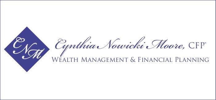 Cynthia Nowicki Moore Financial Planner logo branding