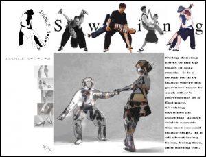 Dance 5678- Website Layout Design