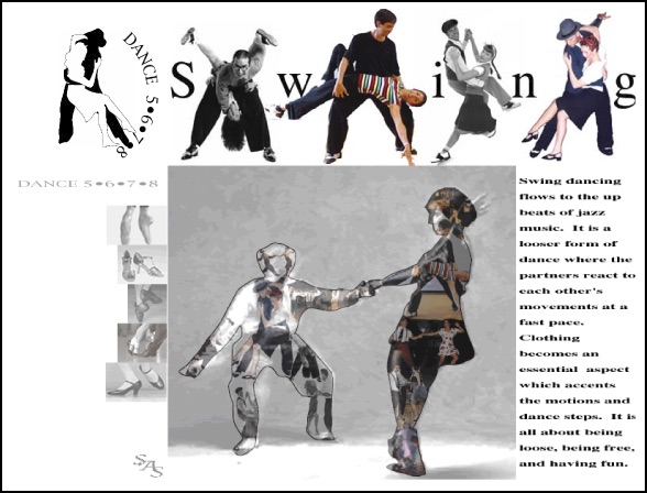 Dance 5678- Website Layout Design