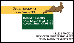 dynamic rabbits business card