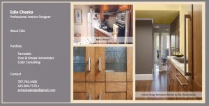 Edie Chaska Design, Landing Page Website designed by Susan Searway Art & Design