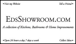 Ed's Showroom business card