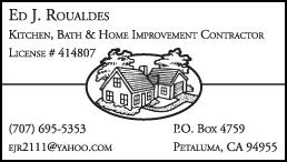 Ed's Showroom business card