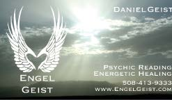 Engel Geist business card