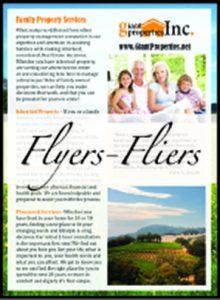 flyers fliers graphic designer