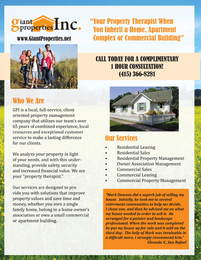 Giant Properties Flier