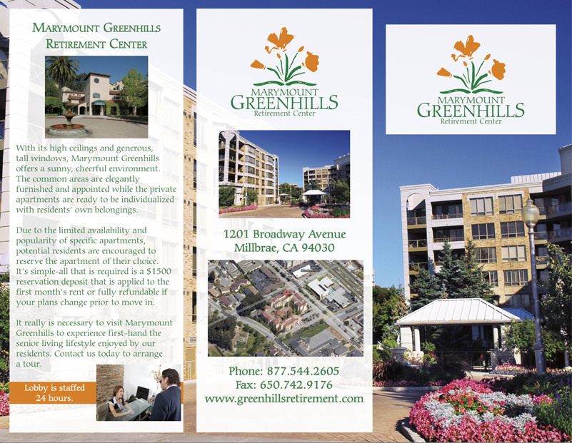 greenhills layout and designed brochure