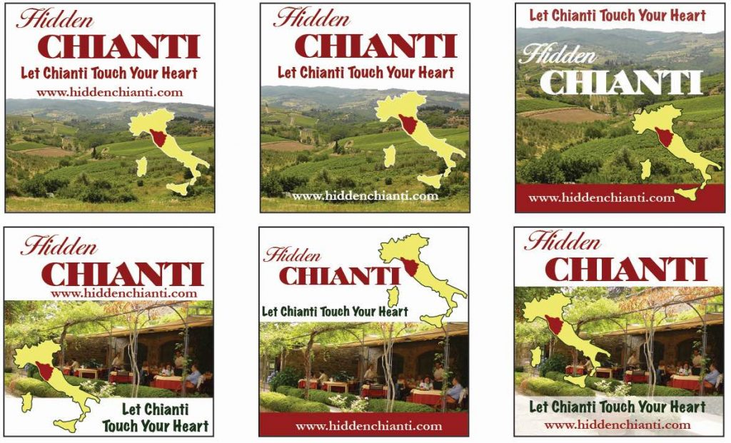 Hidden Chianti Italy Travel advertisements