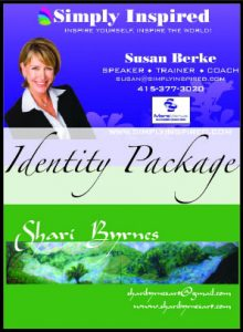 Identity Packages by Susan Searway Art & Design