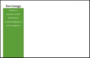 Invenergy multi paged printed Brochure