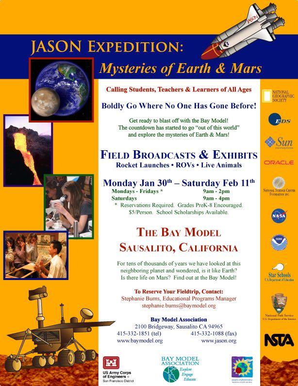 JASON Education Exhibit Flyer 2006