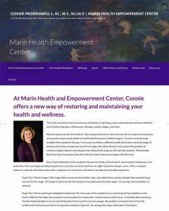 Marin Health Empowerment Center WordPress Website
