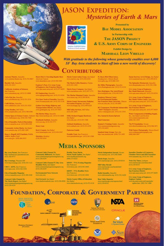 mars 2006 donor sponsor poster