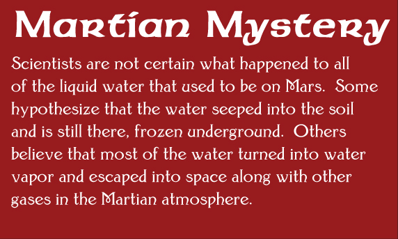 martian mystery