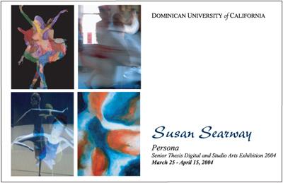 Persona Art Exhibit Postcards