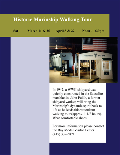 Bay Model Visitor Center Press Release Flyer