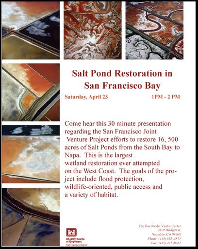 Bay Model Visitor Center Press Release Flyer