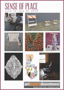 Sense of Place Art Works Downtown 1337 Gallery Postcard