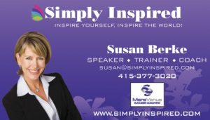 Simply Inspired business card