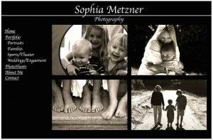 Sophia Metzner Photography Photographer Website