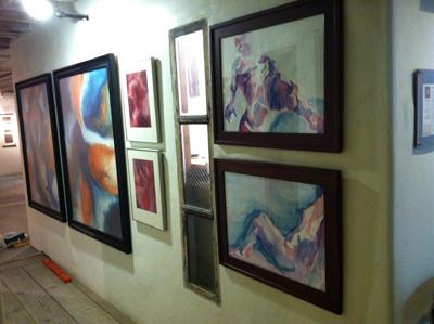 Susan Searway-Fertig art studio at Art Works Downtown - Studio #18 - Lower Level