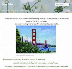 Susan Ticken fine artist portfolio