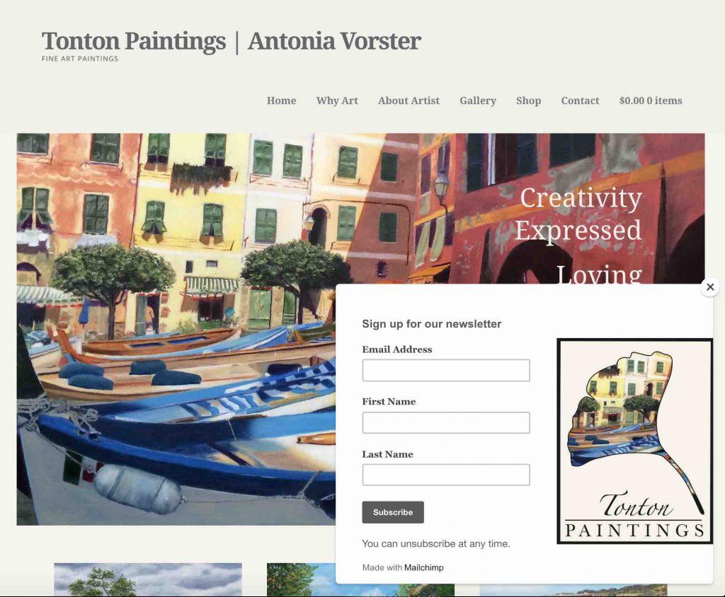Tonton Paintings | Antonia Vorster | Artist | WordPress Website