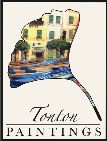 Tonton Paintings Artist Antonia Vorster Logo Design