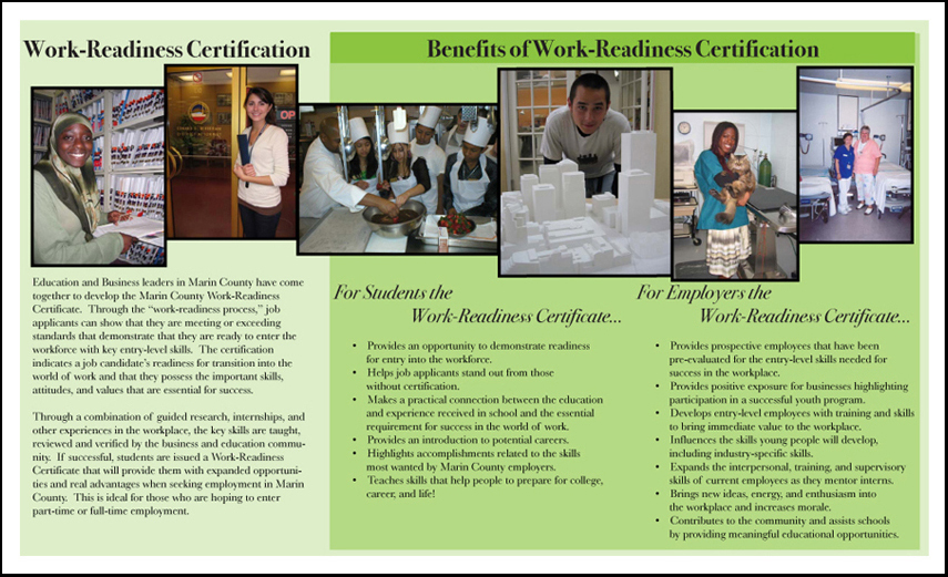 Work Readiness Brochure