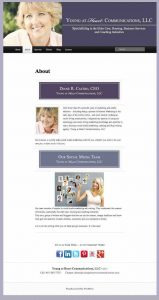 Young at Heart Communications, LLC | WordPress Website