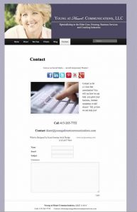 Young at Heart Communications, LLC | WordPress Website