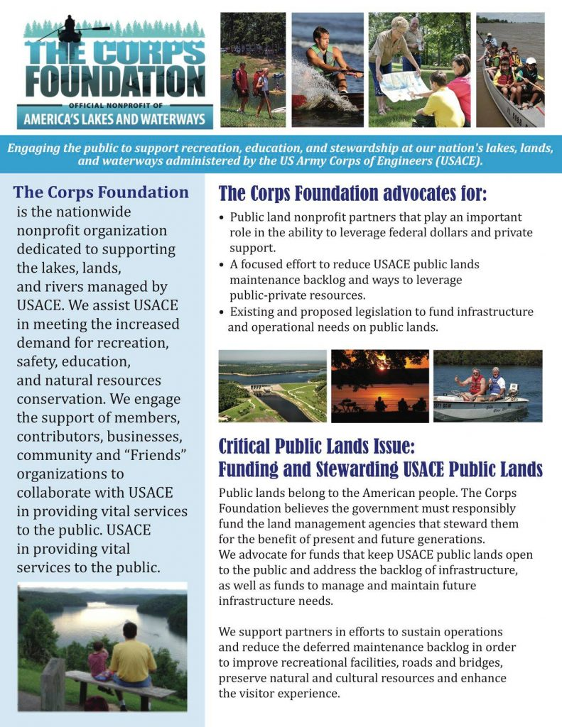 The Corps Foundation | Flyer