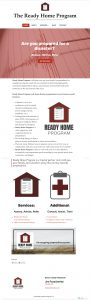 Ready Home Program Website Redesign WordPress Site