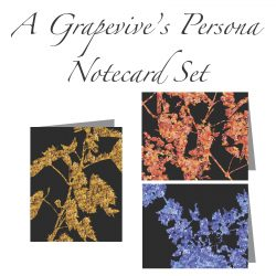 A Grapevine's Persona Notecard Set