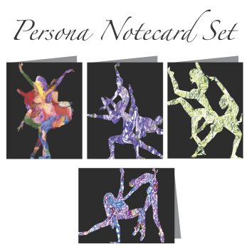 Persona Notecard Set of 4 Cards